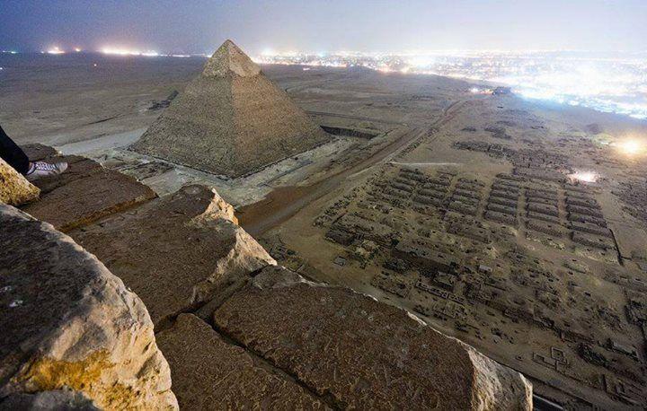 zona de las pirámides