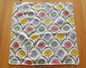 Pañuelo cuatro Flores (color)