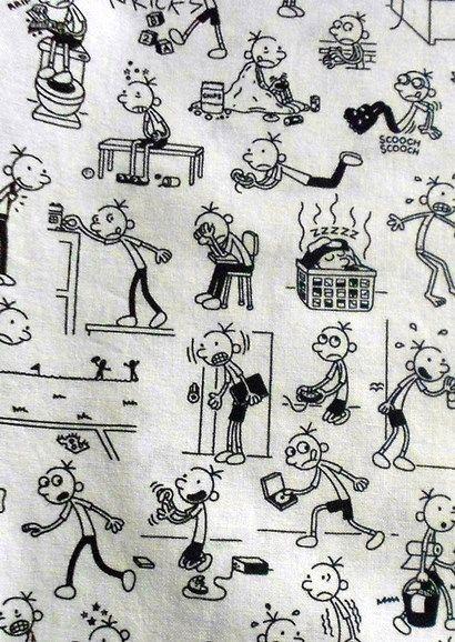 Egy ropi naplója pizsama - Wimpy kid night suit