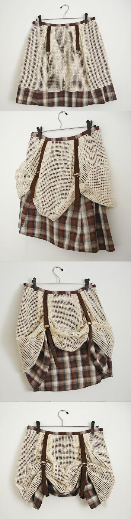 adorable skirt!                                             #etsy  #fashion  #steampunk