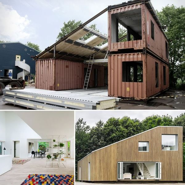 container woning hoe simpel kan het zijn. Black Bedroom Furniture Sets. Home Design Ideas