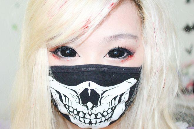 halloween black lenses