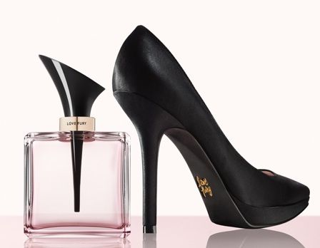 9 West new perfume LoveFury.... its a stiletto!!