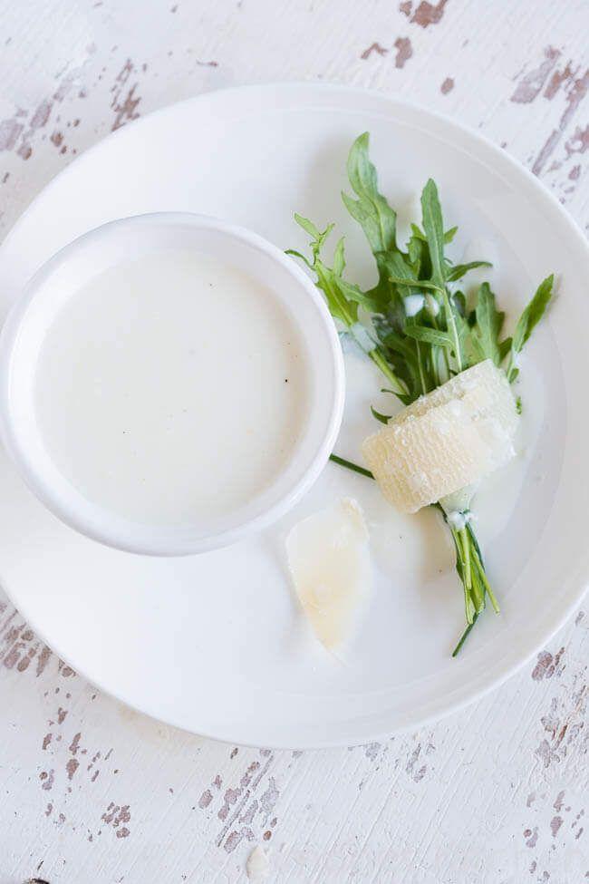 Karnemelk en mierikswortel dressing | simoneskitchen.nl