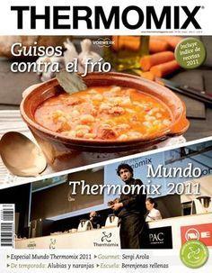 Recetas de entrantes y aperitivos con thermomix