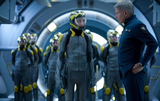 Harrison Ford Wearing His Fortis Official Cosmonauts Chronograph in Ender's Game