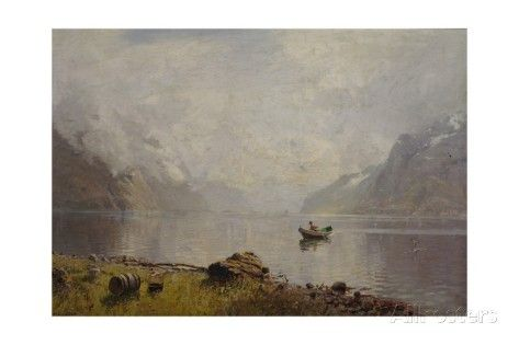 From Sognefjorden Giclee Print by Hans Andreas Dahl at AllPosters.com
