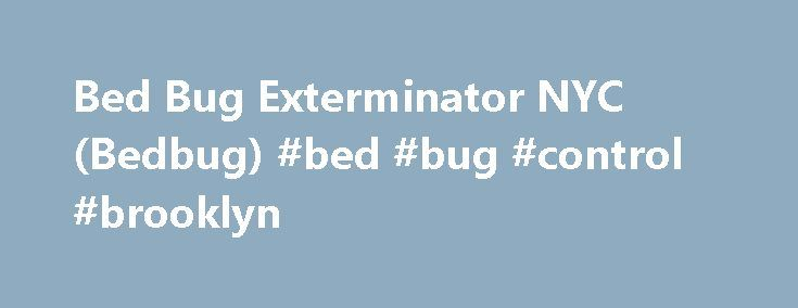 Bed Bug Exterminator NYC (Bedbug) #bed #bug #control #brooklyn http://fresno.remmont.com/bed-bug-exterminator-nyc-bedbug-bed-bug-control-brooklyn/  # Bed Bug Control Center ™ FREE Bed Bug Inspection For a limited time we offer FREE bed bug in-home inspections, if you qualify. Please call now to schedule yours or click here for more details. Exterminate Bed Bugs Review possible solutions for your bed bug infestation. These include do-it-yourself or hiring a professional exterminator. The BBCC…