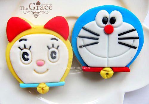 doraemon cookie