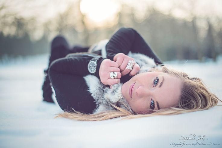 Séance photos sous la neige  #photoshoot #snow