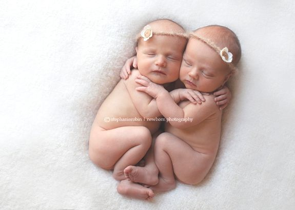 Cute baby/twin photo ideas