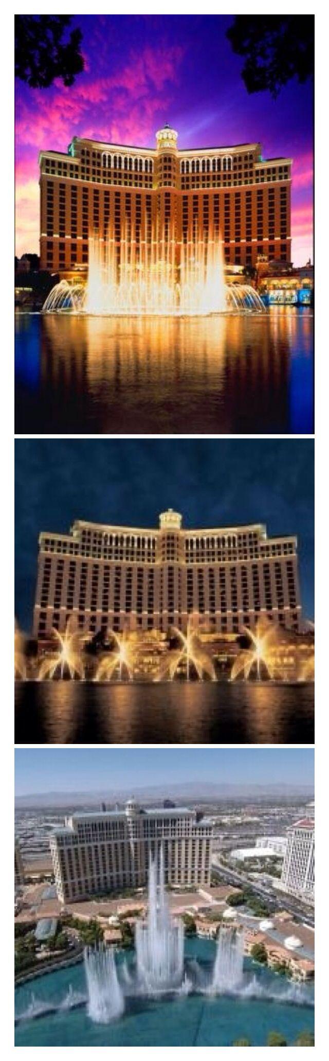 The Bellagio Hotel/Casino - Las Vegas Strip Nevada #Luxurydotcom