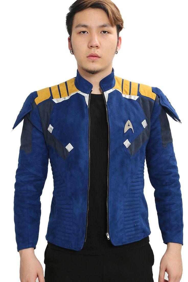 Captain James T. Kirk Jacket  Star Trek:Beyond Cosplay  Costume For Halloween Fancy Dress Movie 2016 Xcoser #Affiliate