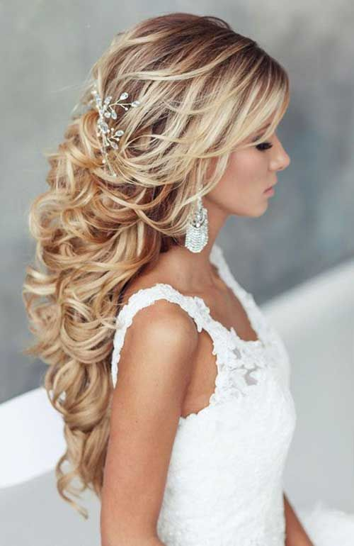 Fabulous 1000 Ideas About Curly Wedding Hairstyles On Pinterest Wedding Hairstyles For Men Maxibearus