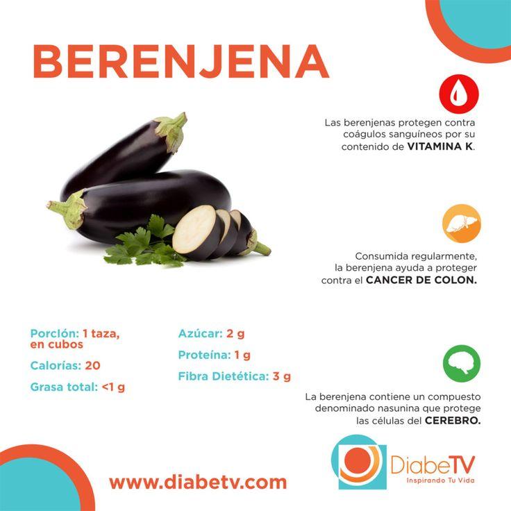 beneficios de la berenjena para el manejo de la diabetes