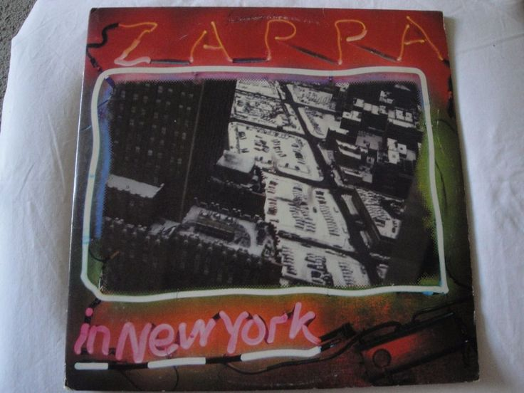 FRANK ZAPPA IN NEW YORK 2X VINYL LP LIVE 1977 Discreet Records 2D 2290 EX #BluesRockExperimentalRockGarageRockProgressiveArtRockPsychedelicRockPunkNewWaveRocknRoll