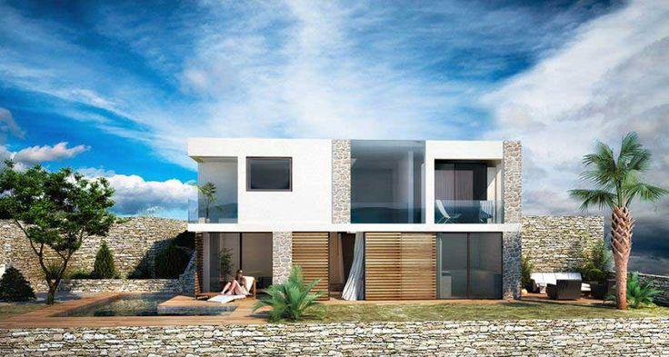 Villa Kroatien am Meer kaufen mit Pool bei Trogir Von diesenVillen haben Sie einen atemberaubenden Meerblick und sie liegen direkt am Meer – in der ersten und zweiten Reihe. Fragen Sie uns! #kroatien #kostrena #trigor #strand #einfamilienhaus #villa #meerblick #ammeer #meer #strandhaus #strandurlaub #immobilie #immobilienmakler #seaveo #meer #direktestrandlage #villa