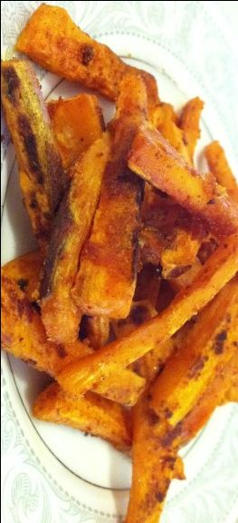 Oven Baked Sweet Potato Fries by Plant Based on a Budget
