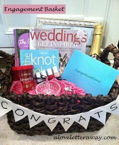 Best 25+ Engagement basket ideas on Pinterest | Diy engagement ...