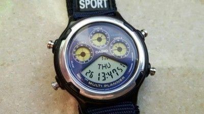 CASIO Multi Planner vintage lata 80/90  zegarek