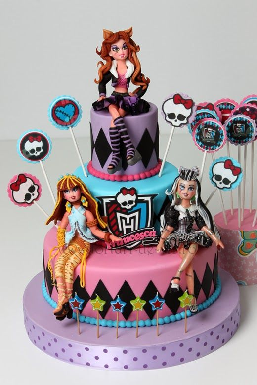 monster high birthday cake 1000 images about high cakes on 6004