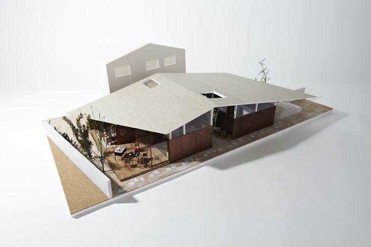 生活のうえのひと屋根| ondesign