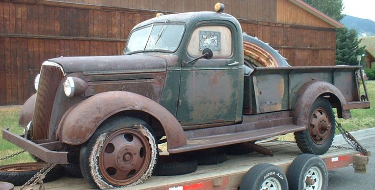 1937 Chevrolet Model GF 1 1/2 Ton Express Oickup Truck For ...