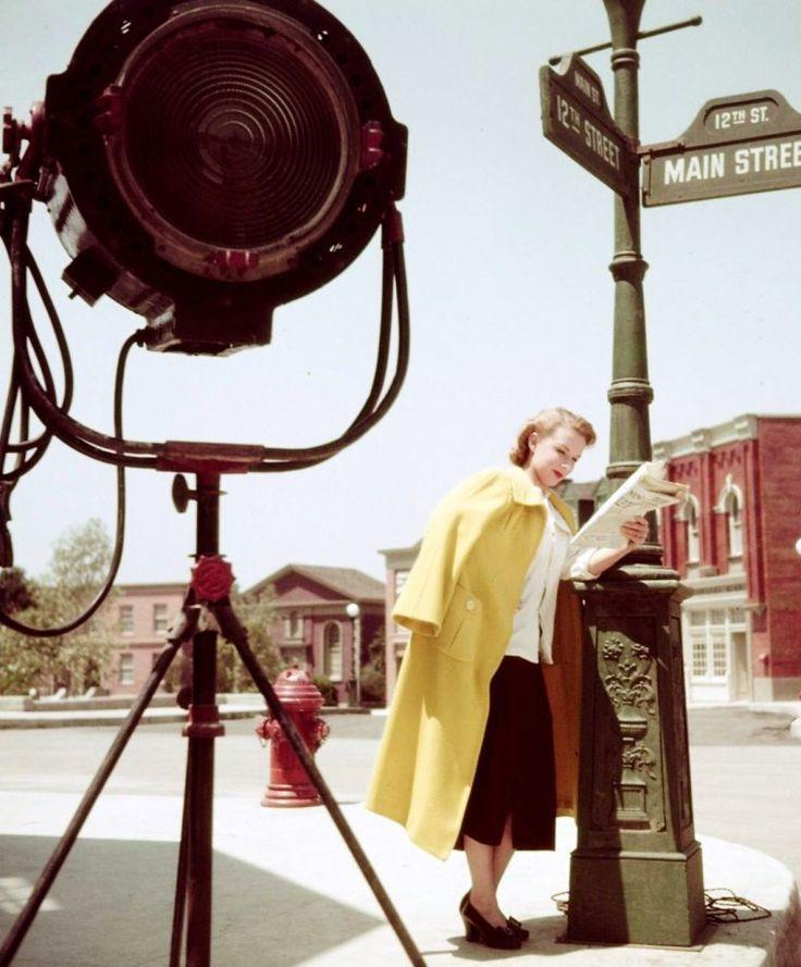 Piper Laurie, 1950, vue par Loomis Dean.