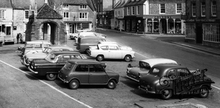 Old photo of Cars c1965, Beaminster