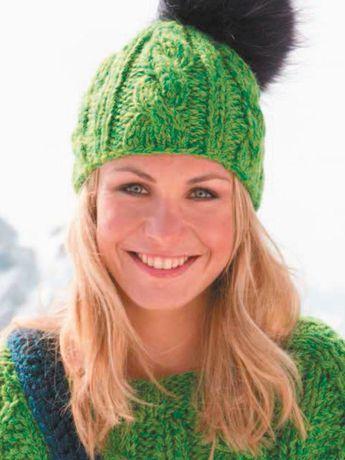 Diese Mütze mit Zopfmuster hält richitg warm!Die Abkürzungen auf einen Blick:re.: Rechtsli.: LinksRd.: Rundestr.: strickenMS: