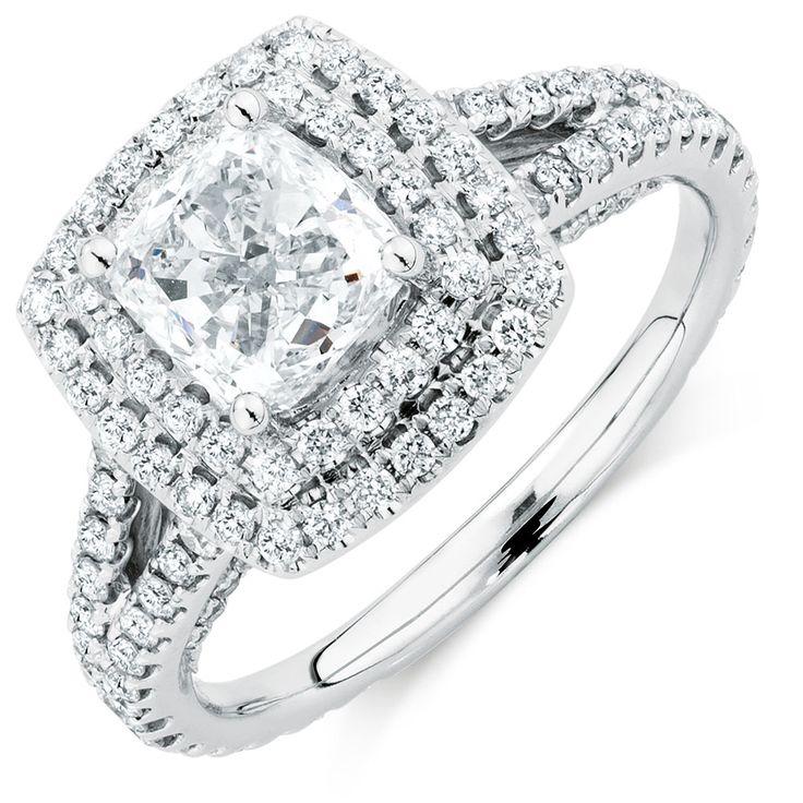 The Michael Hill Designer Bridal Collection 2 1/2 Carat TW Diamond Arpeggio Ring