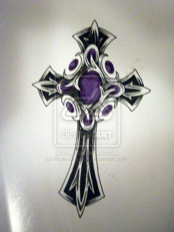 cross+tattoo+designs | celtic cross tattoo cross tattoos for men