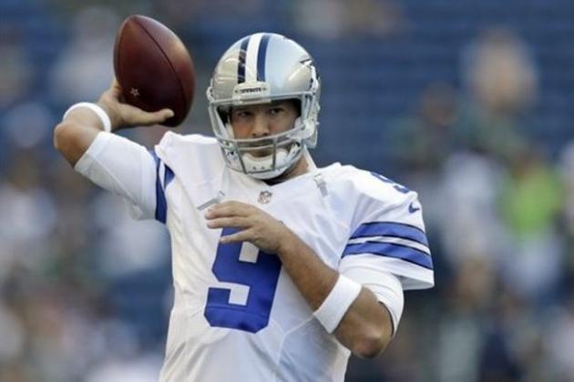 Tony Romo Injury Update: Cowboys QB to Avoid Going on Injured ...