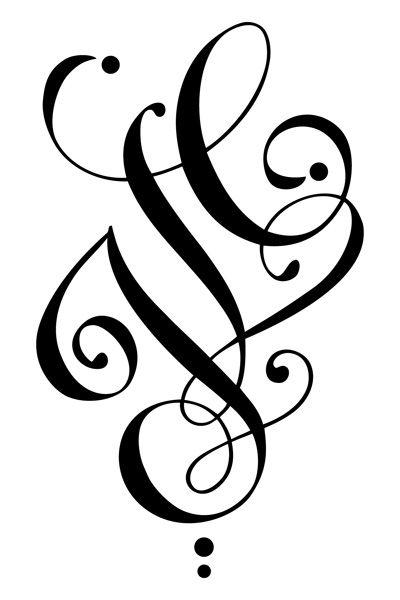 Les 25 meilleures id es de la cat gorie tatouage lettre sur pinterest lettre tatouage - Tatouage lettre l ...