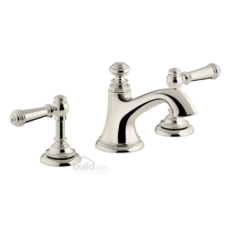 Buy the Kohler K-72759-4-SN Vibrant Polished Nickel Direct. Shop for the Kohler K-72759-4-SN Vibrant Polished Nickel Artifacts Widespread Bathroom Faucet with Lever Handles - Free Metal Pop-Up Drain Assembly with purchase and save.