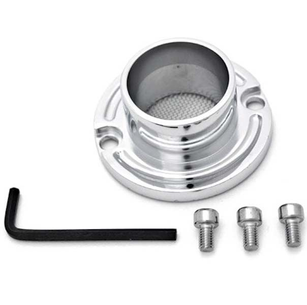 Brand new 100%  ATV Exhaust Tip Muffler Power Polished Chrome For Yamaha Grizzly 80 (All Years)
