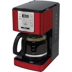 foto: Cafeteira Eletrica Programavel24 Xicaras Vermelha 110v