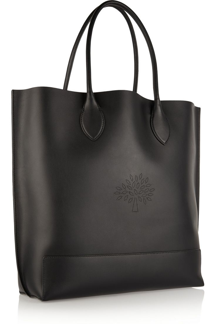 Mulberry|Blossom perforated leather tote|NET-A-PORTER.COM
