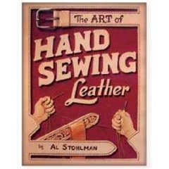 guide to hand sewing leatherLeather Crafts, Leathercraft, Hand Sewing, Hands Sewing, Al Stohlman, Art, Book Jackets, Hands Sewn, Sewing Leather