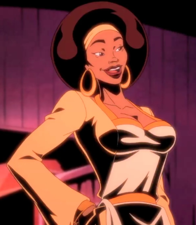 nude Black girls cartoon dynamite