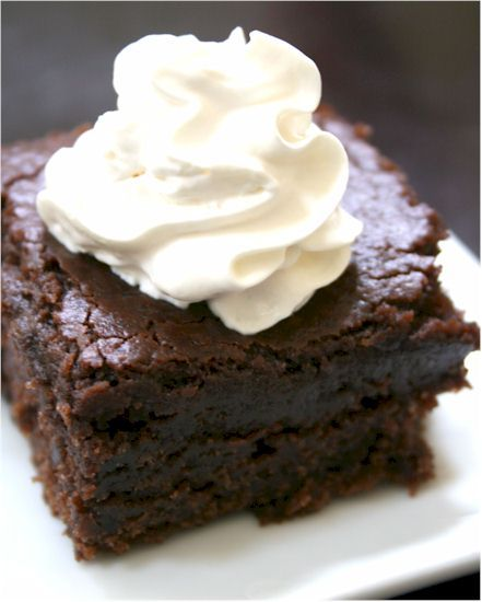 Vegan and Gluten-Free Chocolate Pudding Cake - Go Dairy Free