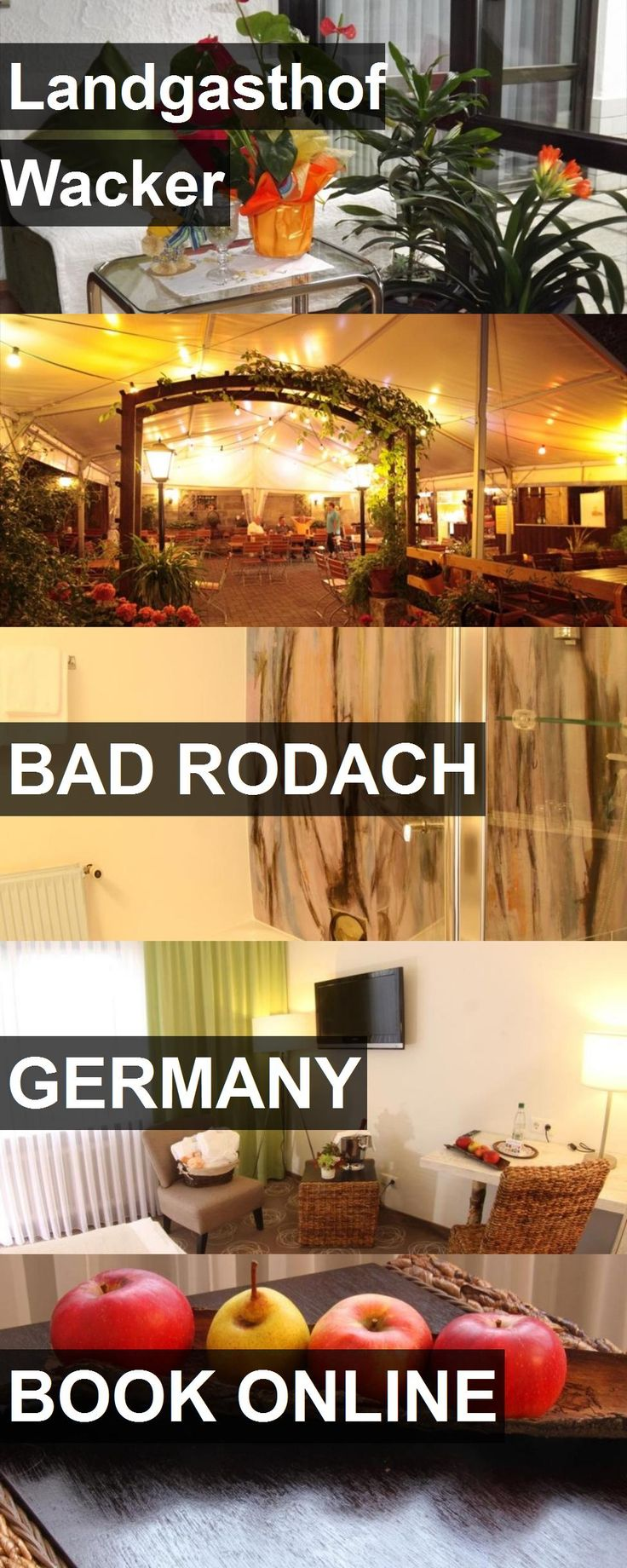 Hotel Landgasthof Wacker in Bad Rodach, Germany. For more information, photos, reviews and best prices please follow the link. #Germany #BadRodach #travel #vacation #hotel