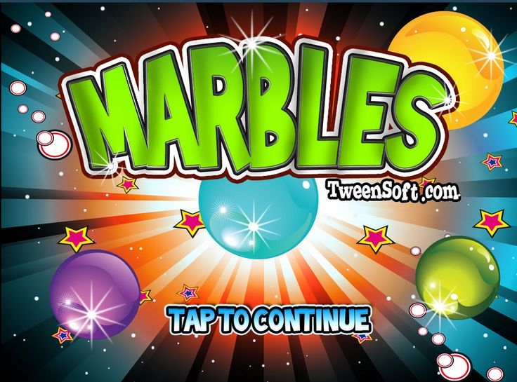 Marbles is a fun, colorful bubble-shooter game. Match the marbles to make them fall and clear the board before the remaining marbles reach the bottom. As the game progresses, it gets harder and the screen gets smaller, so use your time wisely!