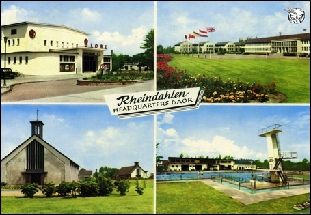JHQ Rheindahlen, Germany - military base during me teens. Got up to plenty of no good here...with Grunt.