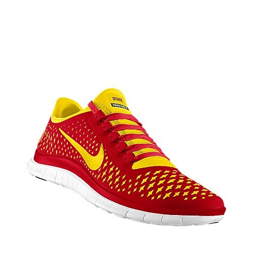 Cool shoe design by a Cyclone fan at NIKEiD--Iowa State Cyclones