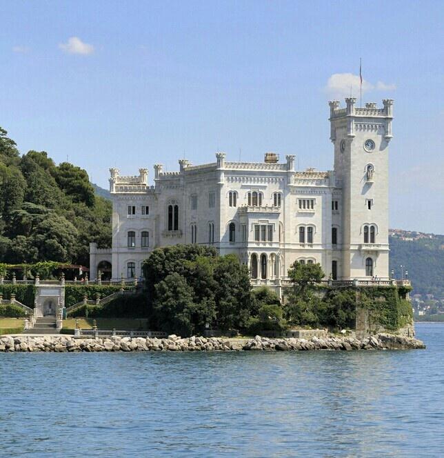 Castello Miramare, Trieste, Friuli Venezia Giulia