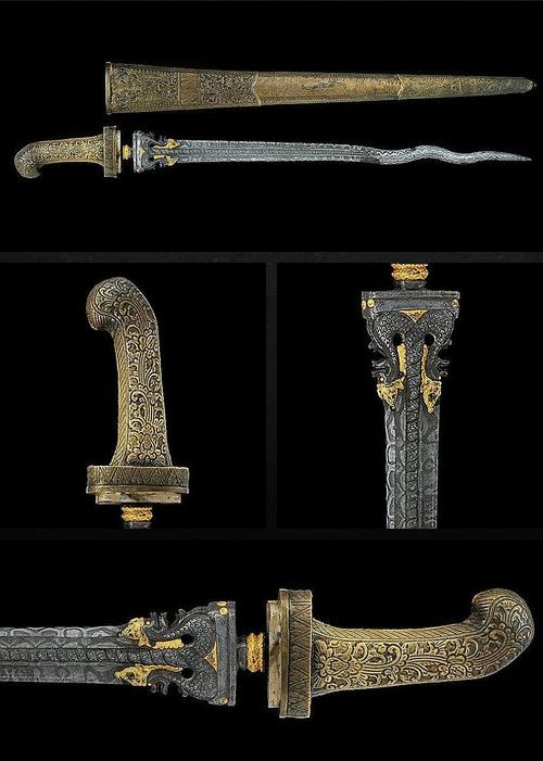 Pedang Sword.      Dated: 19th century.     Provenance: Java (Giava). Copyright © 2014 Invaluable