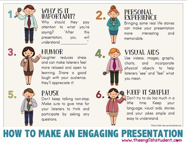 How to make a good oral business presentation