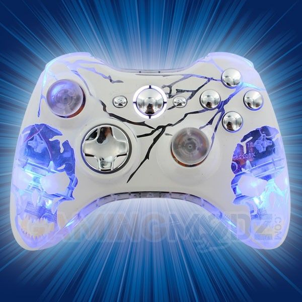 22 best extreme edition xbox360 modded controllers images on lightning and skulls xbox 360 controller solutioingenieria Image collections