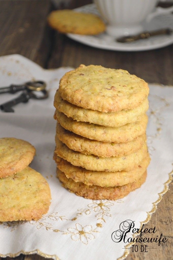 Recept voor deze goddelijke en snelle pistache koekjes (Perfect Housewife - to be). Tover ze binnen een half uur op tafel!